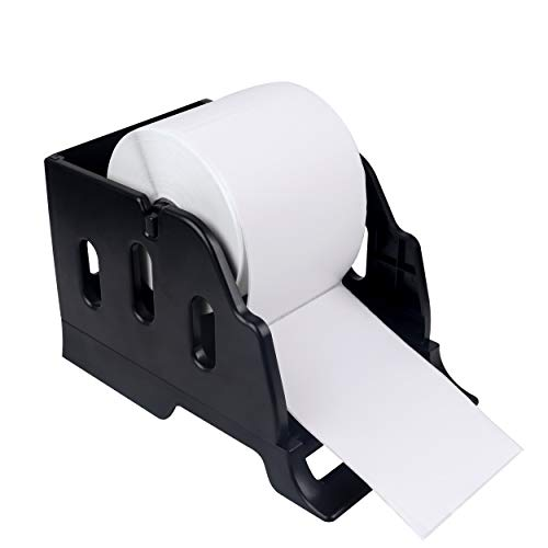 LabelRange Label Holder for Rolls and Fanfold Labels – Desktop Label Printer Accessory