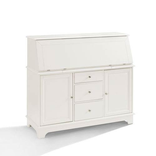 Crosley Furniture Sullivan Secretary Desk - White