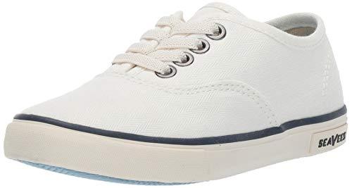 SeaVees Baby Kids Legend Sneaker Standard, Bleach, 9C M US Toddler