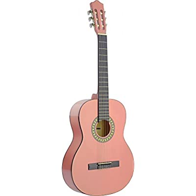 stagg-c542-pk-classical-guitar-pink