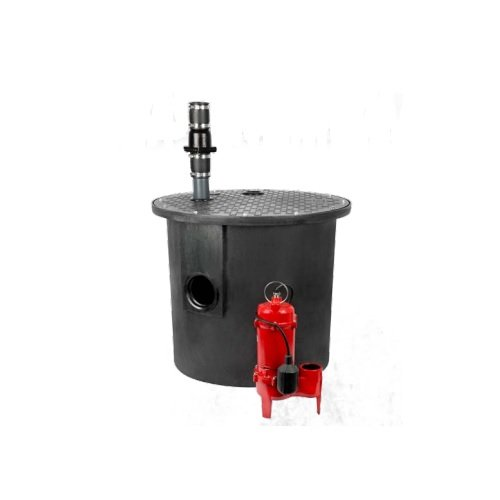 Red lion RL-WCS50TA-24 Sump Pump Accessories 1/2 HP, 5600 GPH Sewage Packaged System, 24