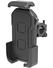 Mobiele telefoonhouder voor op de fiets, anti-shake, eenvoudig te installeren, 360 graden draaibaar, voor smartphones van 4,0-6,5 inch
