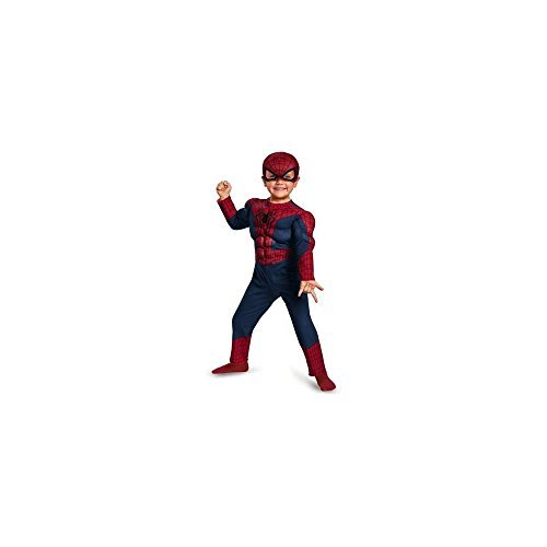Disguise Marvel The Amazing Spider-Man 2 Movie Spider-Man Toddler Muscle Costume