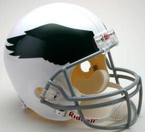 Riddell NFL Philadelphia Eagles 1969-1973 Throwback Replica Vsr4 Full Size Football Helmet