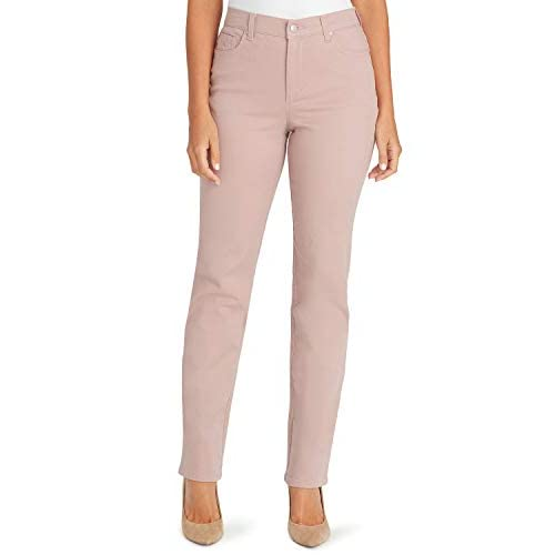 Gloria Vanderbilt Ladies Amanda Classic Fit Tapered Jeans Blue Dusk