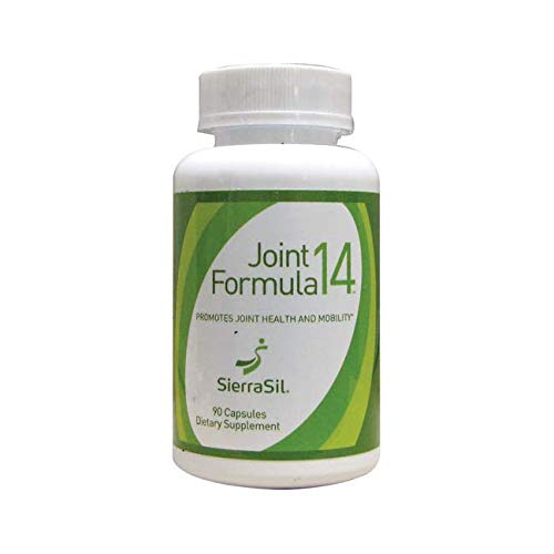 (SierraSil Natural Joint Relief Supplement (90 Capsules) Clinically Proven, Anti Inflammatory, Non-GMO,)