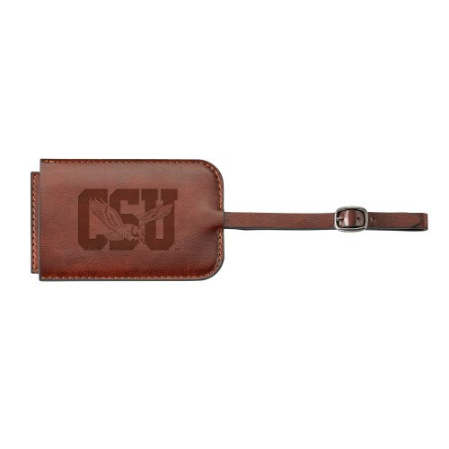 Coppin Fabrizio Brown Luggage Tag 'Official Logo Engraved' by CollegeFanGear