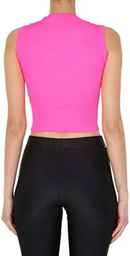 GCDS Luxury Fashion Donna CC94W02110946 Fucsia Poliammide Top | Primavera-Estate 20