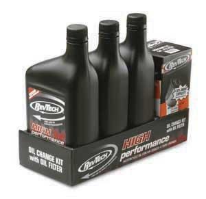 RevTech - Kit de Servicio de Cambio de Aceite para Harley-Davidson Sportster/Evolution - Filtro Negro: Amazon.es: Coche y moto