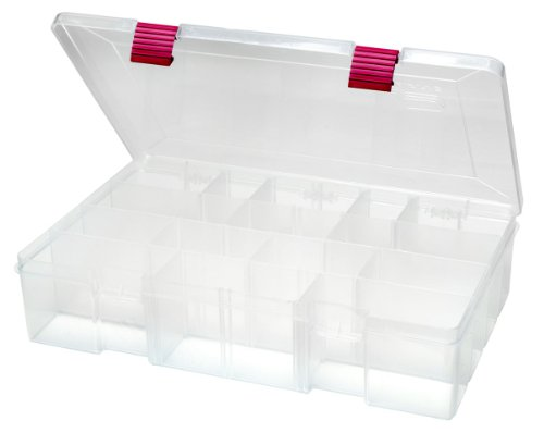 Creative Options 2-3730-82 Pro-Latch Deep Utility Organizer with 4 to 15 Adjustable Compartments, Large