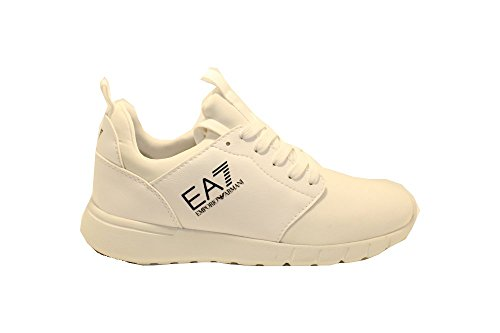 Bianco Mujer Bianco Para Armani Blanco Emporio Zapatillas nCfp6wn7q
