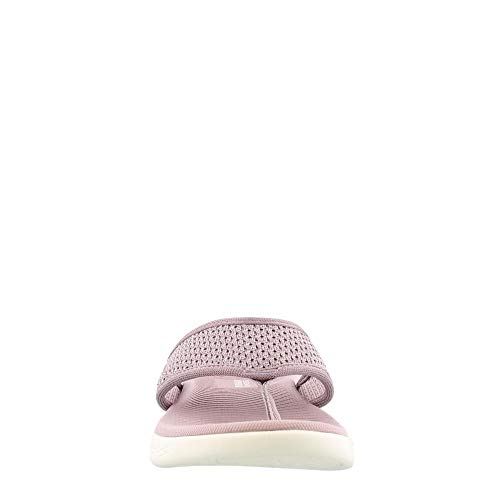 Post The Sandals Go 600 Lilac On Toe Womens Skechers qY5Bf