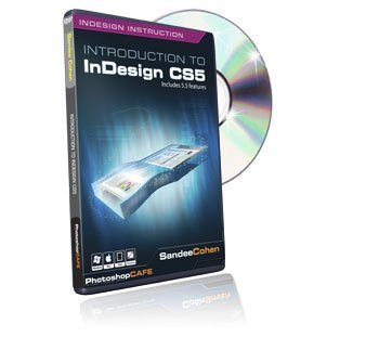 Introduction to Adobe Indesign tutorial DVD - CS5 & CS5.5 training video (Indesign Training)
