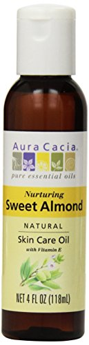Aura Cacia, Sweet Almond Oil, 4 oz Liquid