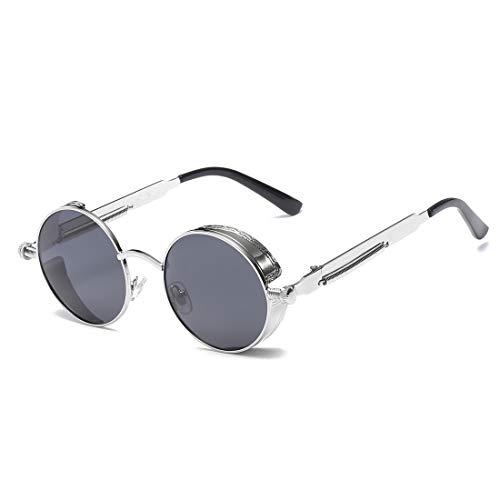 Verres léger Black Frame Frame Color de à de Gray pour Lens Soleil Lunettes Soleil Femmes en Super polarisants Silver Lens Gray Aluminium Lunettes Sakuldes 84Oa1n