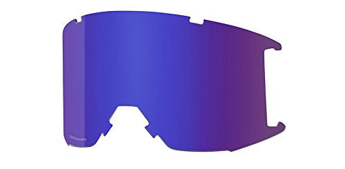 Smith Optics Squad Adult Replacement Lense Snow Goggles Accessories Chromapop Everyday Violet Mirror/One Size