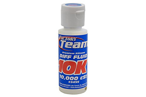 Team Associated 5455 Factory Team Silicone Differential Fluid, 10000CST