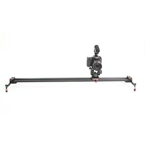 Konova Camera Slider Dolly K7 100cm (39.4 Inch) Can Support Broadcast Camera Like ENG Camera by KONOVA