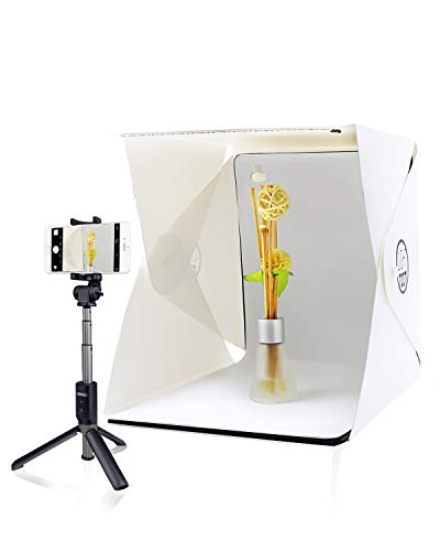 - Agreatca Portable Studio,Portable Mini Photo Studio with LED Light,Small Folding Product Lighting Kit Light Box Tent (+ Free ebook Guide to Product Photography)