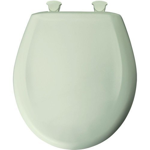 Bemis 200SLOWT 305 Round Closed Front Toilet Seat, Sea Mist Green by Bemis