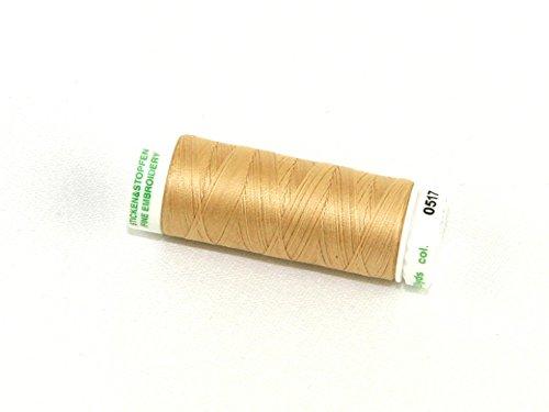 Mettler No 60 Fine Machine Quilting Thread 200m 200m 1118 Toffee each