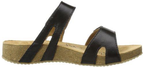 Josef Seibel Tonga 04 - Sandalias de vestir de cuero para mujer negro negro 39 negro - negro