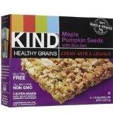 (2 Pack) Kind Granola Bar, Maple Pumpkin Seed W/sea Salt, 1.2-ounce Bars, 5 Bars Per Box Review