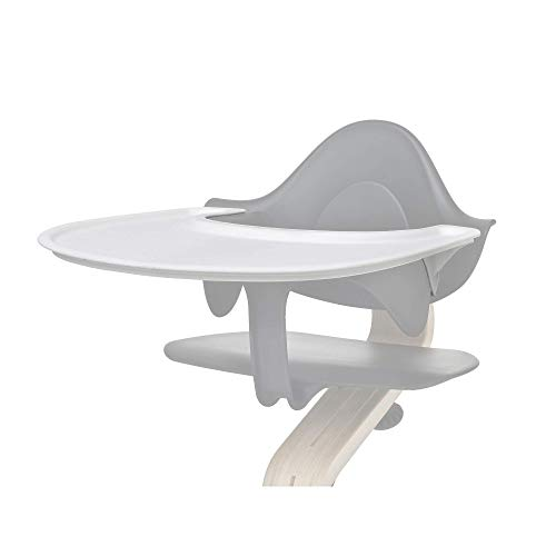 Tray by Evomove, White, Accessory for use with the Award Winning Nomi High Chair, Easy to Clean