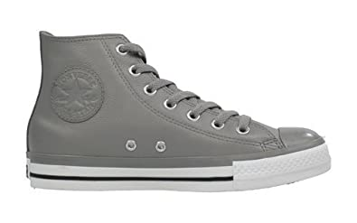 Converse Chuck Taylor All Stars 117294 AS Leather Grey Hi Top. Unisex Gr. UK af611dfe62