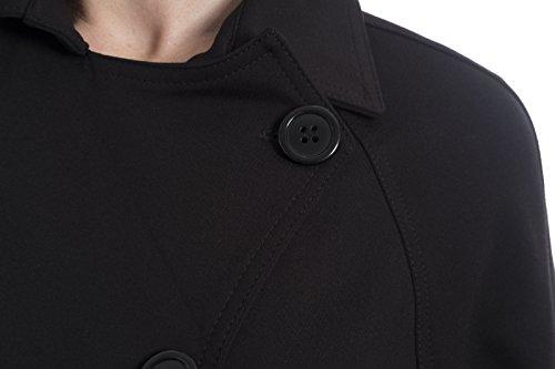 Joseph Ribkoff Black Double Breasted Jacket Style 174304 Size 12 by Joseph Ribkoff (Image #3)