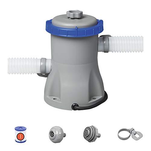 🥇 Bestway 330 Gal Flow Clear Filter Pump Blue