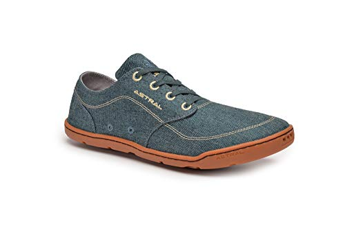 (Astral Hemp Loyak Everyday Lace Up Shoe for Casual Use and Travel, Denim Navy, Men's 10 M US, Women's 11 M US )