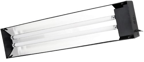 Et Dual Linear Flourescent Canopy 30 In by Exo Terra