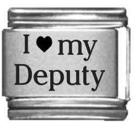 I Heart my Deputy Laser Etched