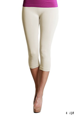 - Nikibiki Womens Seamless Capri Leggings