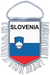 Akachafactory Fanion Mini Drapeau Pays Voiture Decoration slovenie Slovene
