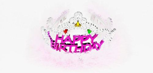 Forum Novelties Happy Birthday Flashing Tiara -