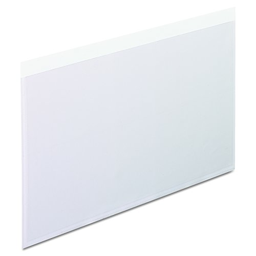 Pendaflex 99377 Self-Adhesive Pockets, 5 x 8, Clear Front/White Backing (Box of -