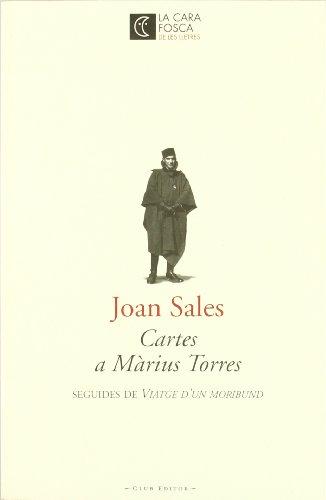 Descargar Libro Cartes A Màrius Torres Joan Sales