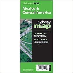 Mexico/Central America (World Political & International Highway Fold ...