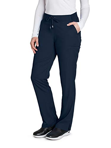 Grey's Anatomy 4277 Straight Leg Pant Steel M