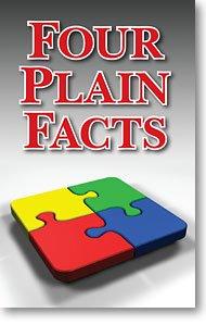 Four Plain Facts (Packet of 100, NKJV) (Through One Man Sin Entered The World Nkjv)