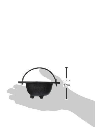 New Age Imports Inc. Small Pentagram Cast Iron Cauldron, 3 inches Diameter by New Age Imports, Inc. (Image #2)
