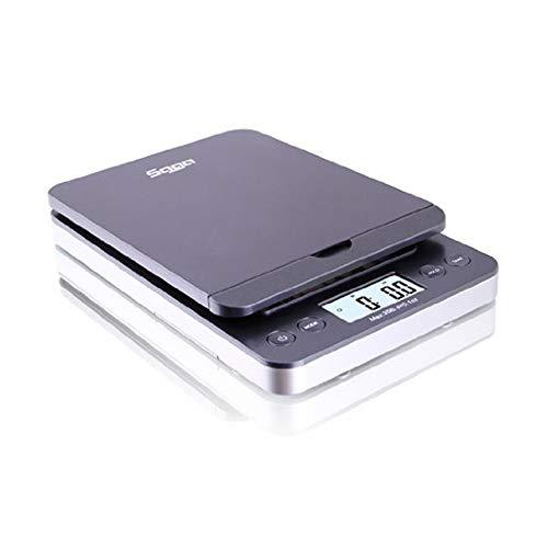 SAGA 86 LB Digital Postal Shipping Scale 0.1 OZ Weight USPS Postage W/AC USB M Pro Model Gray ()