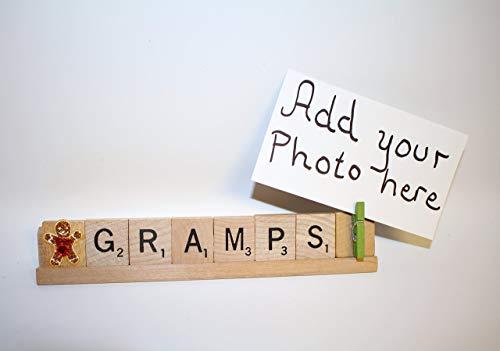 (Gramps Gift, Grandpa Gift, Papa Frame, Dad Gift, Grandpa Birthday, Baby Announcement)