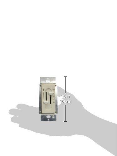 Hunter 27182 Fan/Light Dual Slide Fan/Light Control, Off White by Hunter Fan Company