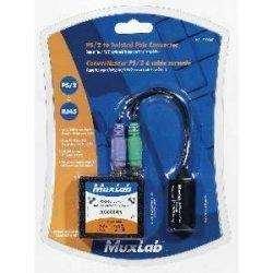 Muxlab 500047 PS/2 Keyboard & Mouse Balun Kit w/ Both Sides