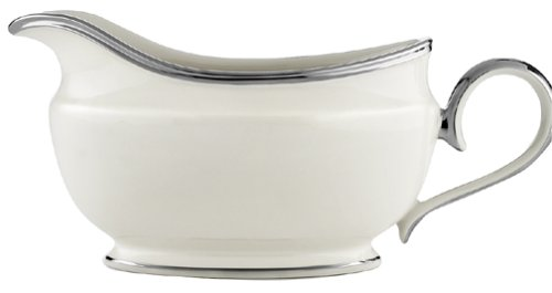 - Lenox Solitaire Platinum-Banded Fine China Sauceboat