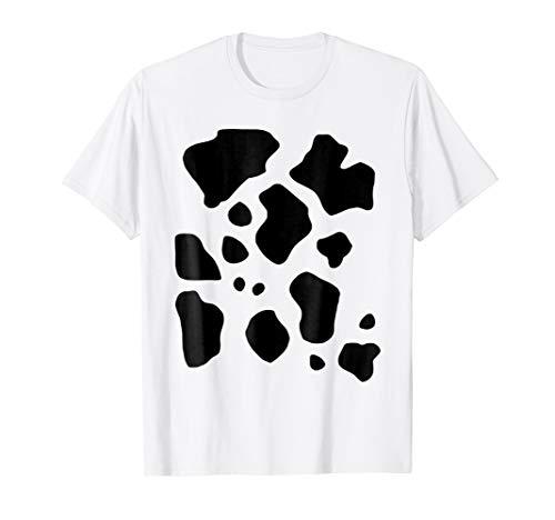 Halloween Cow T-shirt Funny Costume Idea Animal Farmer Tee