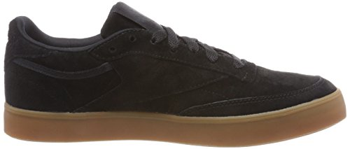 Donna Gum Reebok FVS Club Black C Sneaker 85 Nero P7T7gW